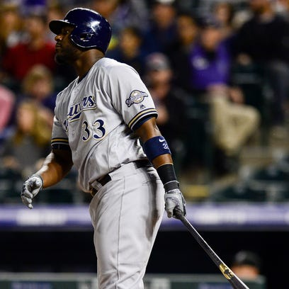 Rockies 4, Brewers 1: Carter hits 40th homer in loss