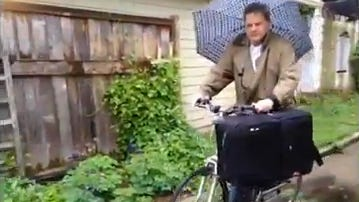 Star reporter John Tuohy takes part in Bike to Work.