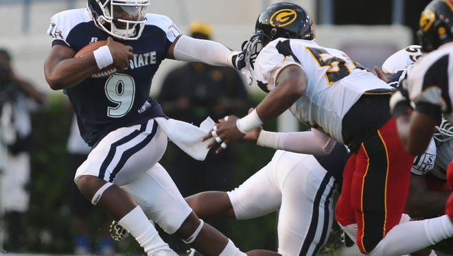 Jackson State will have a chance to avenge last season's five-point loss to Grambling State on Oct. 3.