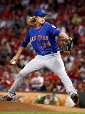 Noah Syndergaard's strikeout-to-walk ratio makes him a starting pitcher to target in 2016.