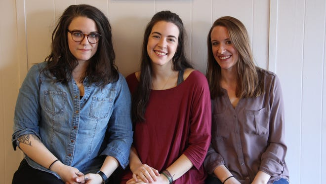 "Sisters, from left, Joy Ebel, of Chili, Janice ""Jane"" Leverenz, of Hamlin and Jenessa Pak, of Kendall, have opened Three Sisters Doula Care in Brockport."