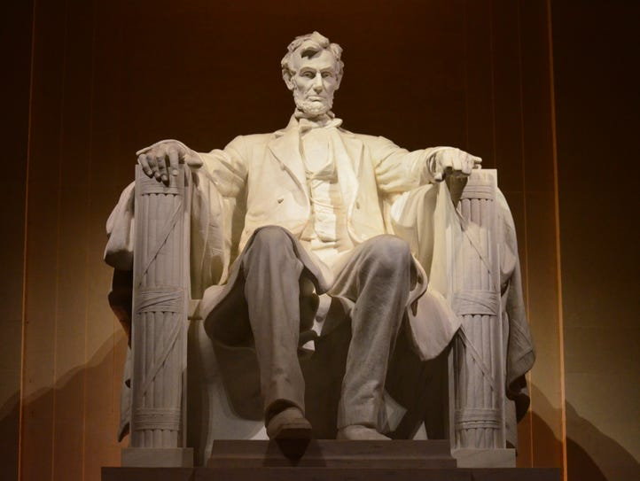 5. Lincoln Memorial – 7,956,117: At the west end of