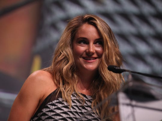 Actress Shailene Woodley was honored during the Sierra