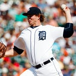 Detroit Tigers relief pitcher Justin Wilson throws against the Boston Red Sox on Aug 18, 2016, at Comerica Park.