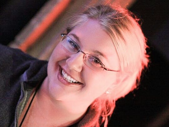 Stage manager Molly Goodwin grew up in Davenport and studied at Luther College.