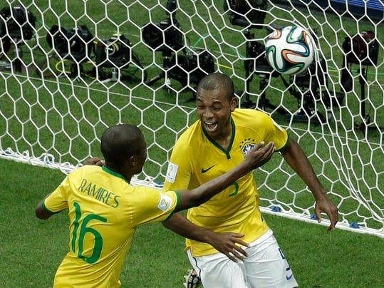 Brazil Soccer WCup Cameroon Brazil