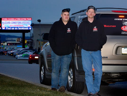 PHOTOS: S&S Storm Chasing and Forecasting Team