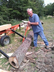 With modern tools, Vern Salzl does the work  it took