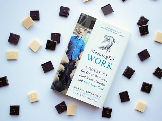 "Shawn Askinosie's first book is titled ""Meaningful Work: A Quest to Do Great Business, Find Your Calling, and Feed Your Soul."""