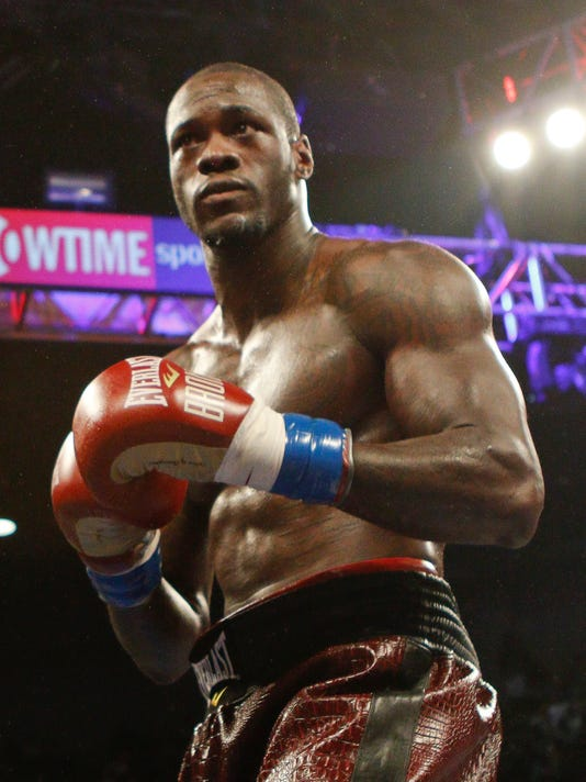Heavyweight boxing champ Deontay Wilder arrested for marijuana possession