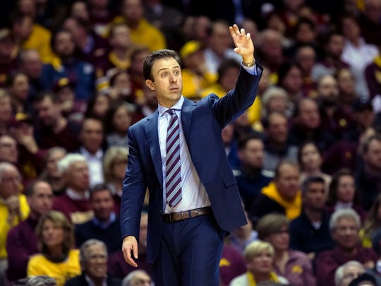Richard Pitino led a revival at Minnesota this season.