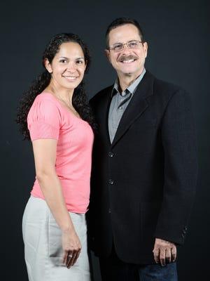 Nina Ruedas and Winston Wilde
