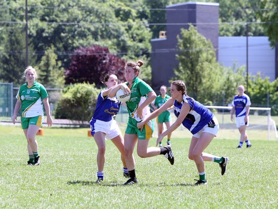 Cavan plays Kerry/Donegal in a NYGAA ladies senior