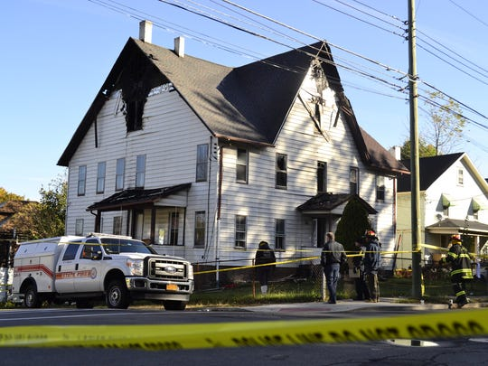 Johnson City police say two boys were killed in an intentionally set fire at 145 Floral Ave. on Oct. 19, 2015. Dwight Burton faces murder and arson charges.