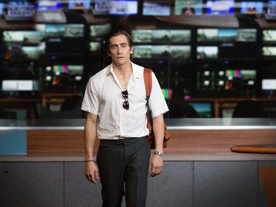 Jake Gyllenhaal as Lou Bloom in 'Nightcrawler'