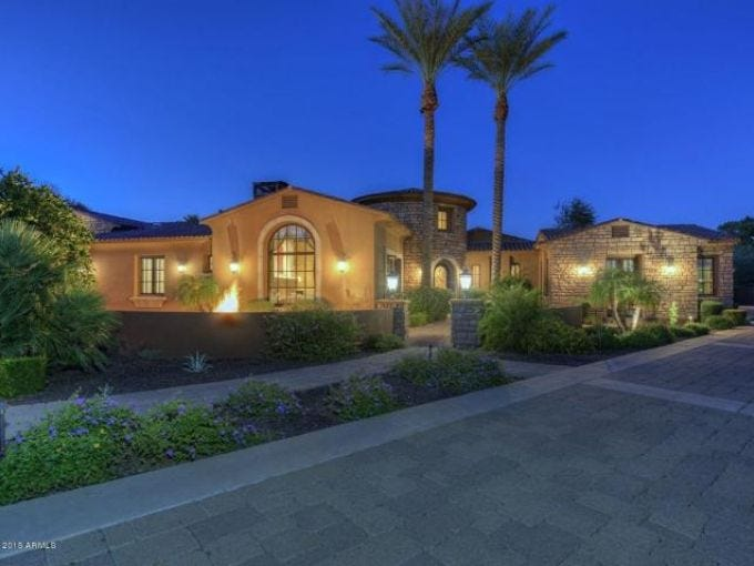 Luxury homes Phoenix Suns forward buys 23M Paradise Valley home