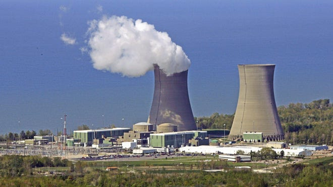 The Perry Nuclear Power Plant along Lake Erie in North Perry is one of Ohio's two nuclear plants, both of whose operations are subsidized by House Bill 6.