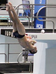 Ryan McClelland, a sophomore at John Carroll University, is one of the country's top Division III divers.