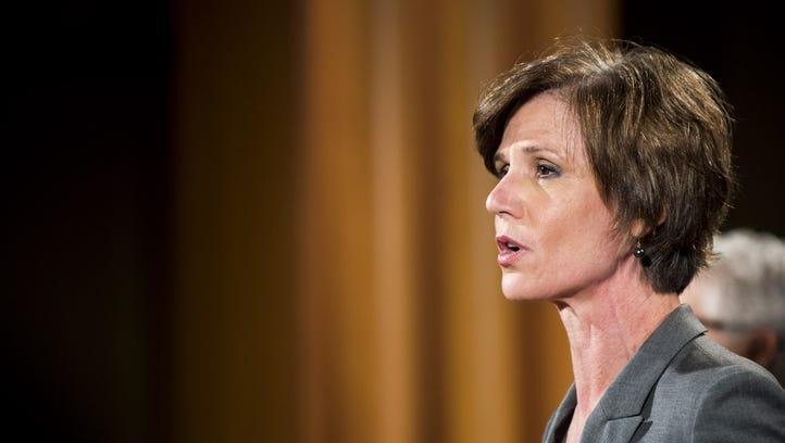 Former Deputy Attorney General Sally Q. Yates.