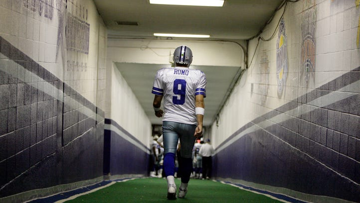 In this Dec. 20, 2008, file photo, Dallas Cowboys quarterback
