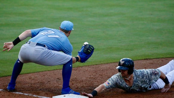 The El Paso Chihuahuas defeated Omaha Storm Chasers