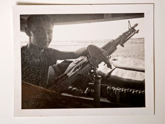 Terry Miller while stationed in Vietnam.