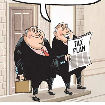 Who benefits under Republican tax cut proposals?/Thompson