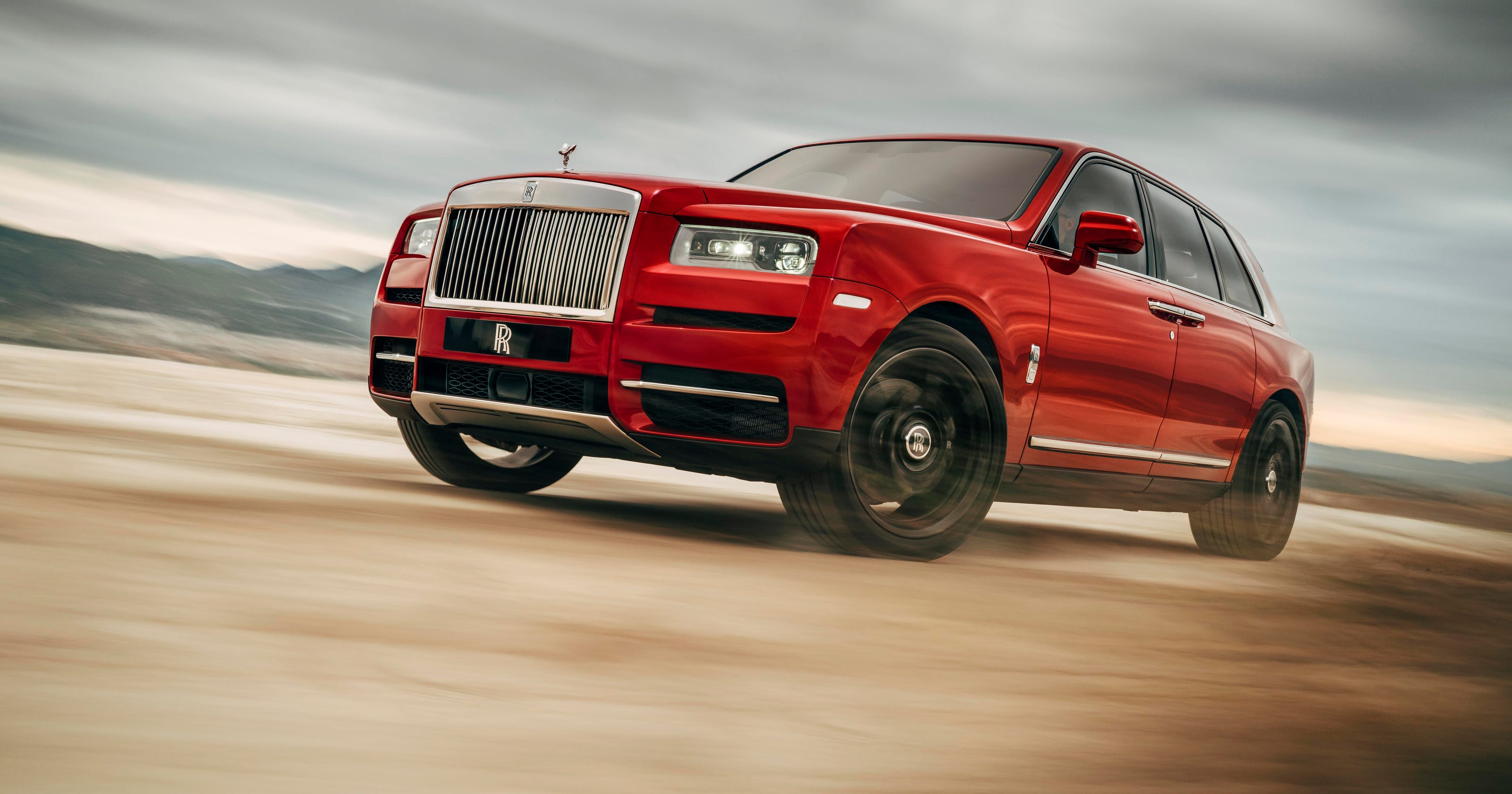 Rolls Royce Reveals Cullinan Suv At A Price Of 325000