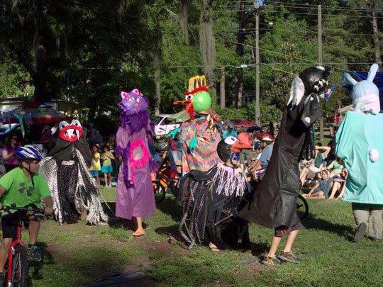 Nene Fest puppet show