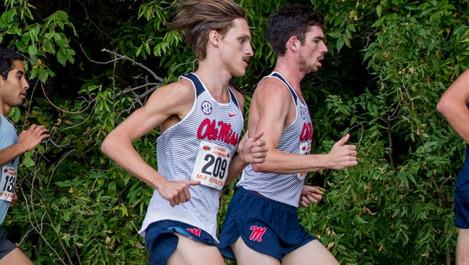 King grad and Ole Miss sophomore Parker Scott has become a key runner for the Rebels this season.