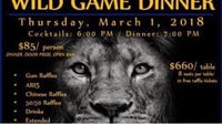 "A ""Wild Game"" charity dinner raising money for South Lyon High School's football team has been canceled over pushback over a gun raffle with prizes such as an AR-15."
