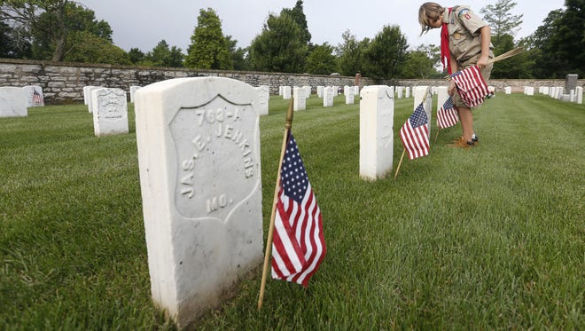 Memorial Day is Monday, May 29, 2017.