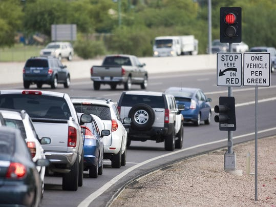 Ramp Stop And Go Lights Weighed For I 235