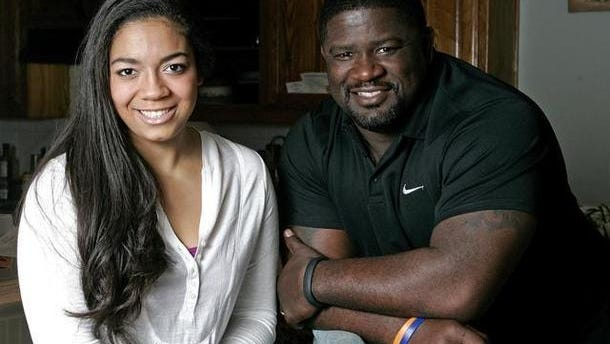 Malena Brown and her father, Gary.