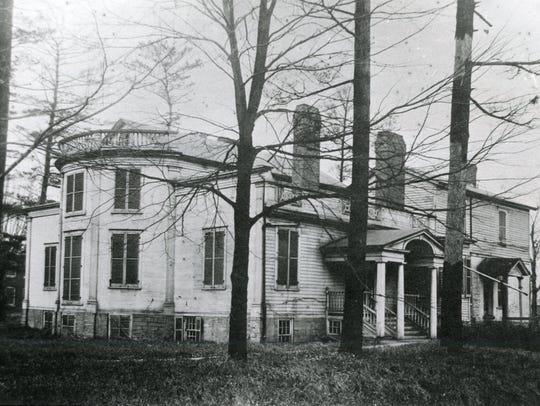 Joshua Whitney's home on Upper Court Street.