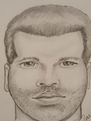 This composite sketch depicts the suspect in a sexual assault that occurred June 16 in Camden.