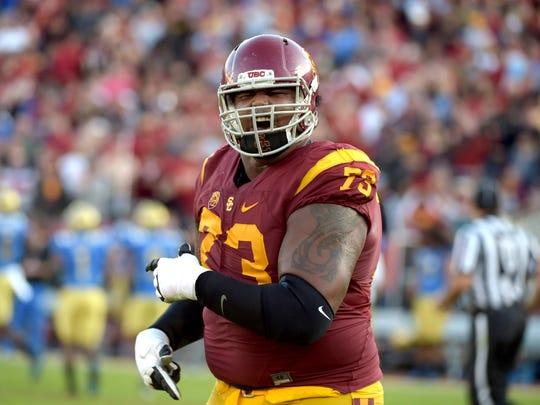 At his biggest at USC, Banner nearly weighed 400 pounds.