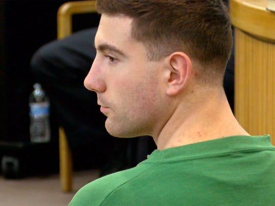 Joseph Villani is shown during an initial appearance