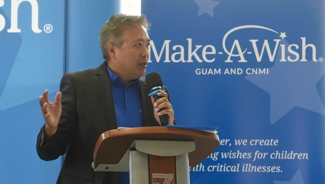 Eric Tydingco, the Make-A-Wish Foundation of Guam & CNMI president and CEO, i shown in this July 30, 2018, file photo.