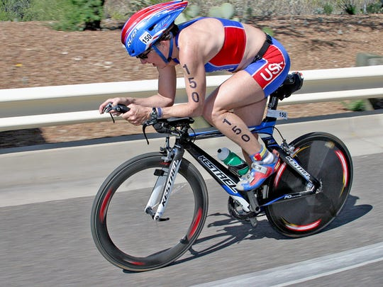Michigan triathlete Karen McKeachie was killed in bike crash.