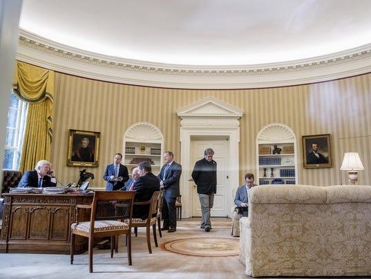 Trump One Year Photo Gallery