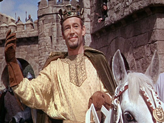 "Peter O'Toole in 1964's ""Becket."" O'Toole earned his second Oscar nomination for his role as Henry II opposite Richard Burton."