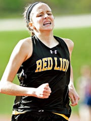 Red Lion's Kiersten Lloyd places first in the girls