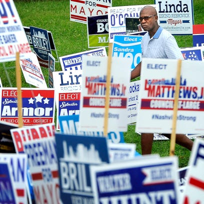 Ricky Caldwell is a wash in a sea of political signs