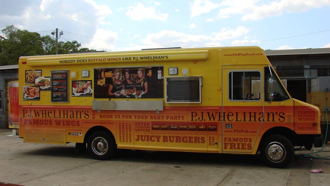 A PJ Whelihan's food truck is customized to feed hungry food truck fans in Hammonton.