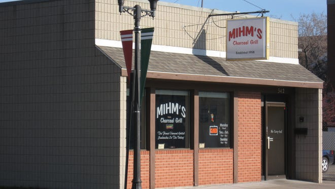 Mihm's Charcoal Grill on Chute Street in Menasha.