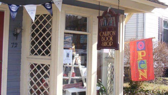 The Califon Book Shop is at 72 Main St. in Califon.