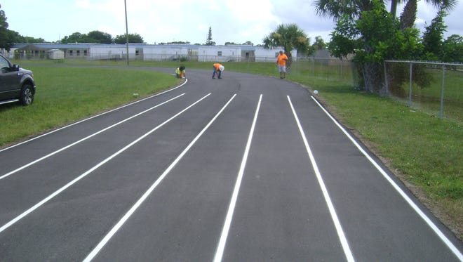 The public is invited to celebrate the completion of the Dan McCarty Track improvement project at the ribbon-cutting ceremony on Oct. 26.