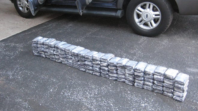 Troopers say they seized 100 pounds of marijuana in Strafford in March.