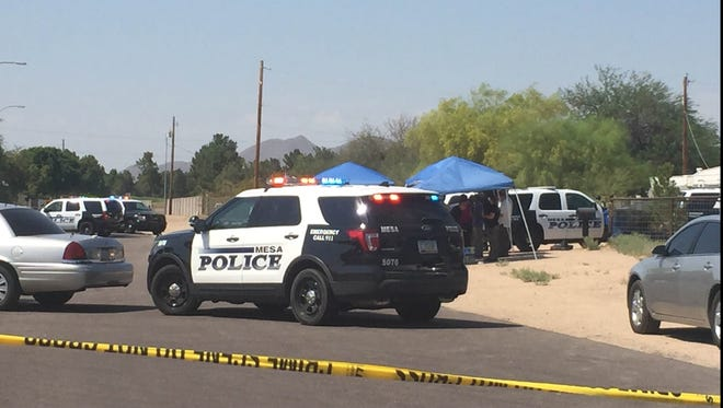 An officer-involved shooting occurred near 82nd street and University Drive